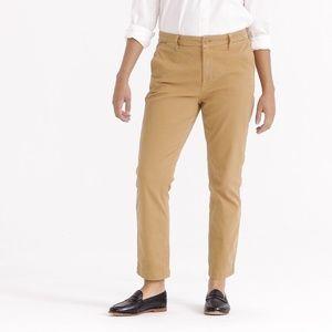 [J. Crew] High-Rise Slim Boy Chino Pant